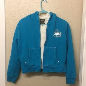 Other - Fuzzy Blue Jacket (Kids)